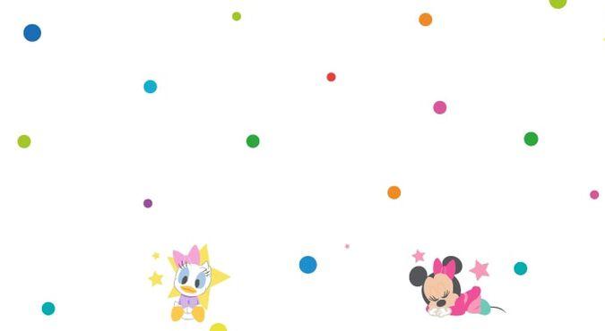 Targetas digitales con hermosos dibujos de Mickey y Minnie