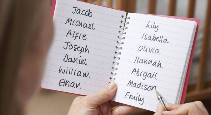 Nombres para niños y niñas oiginales