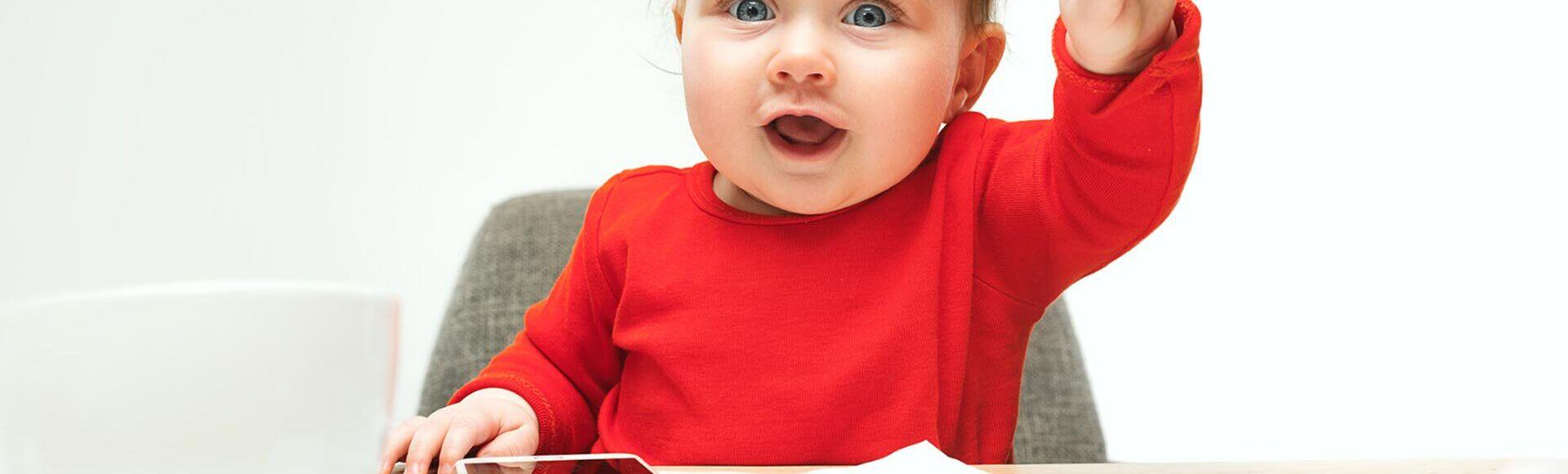 Objetos y juguetes que los bebés no deben compartir