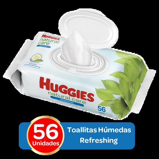 Toallitas Húmedas Huggies Refreshing Clean; 56 uds