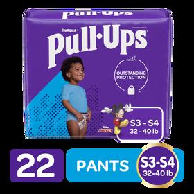 Training Pants Huggies Pull-Ups para Niño Size 3T/4T; 22uds