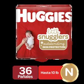 Pañales Huggies Little Snugglers Newborn; 36uds