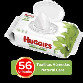 Toallitas Húmedas Huggies Natural Care; 56uds
