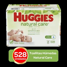 Toallitas Húmedas Huggies Natural Care; 528uds