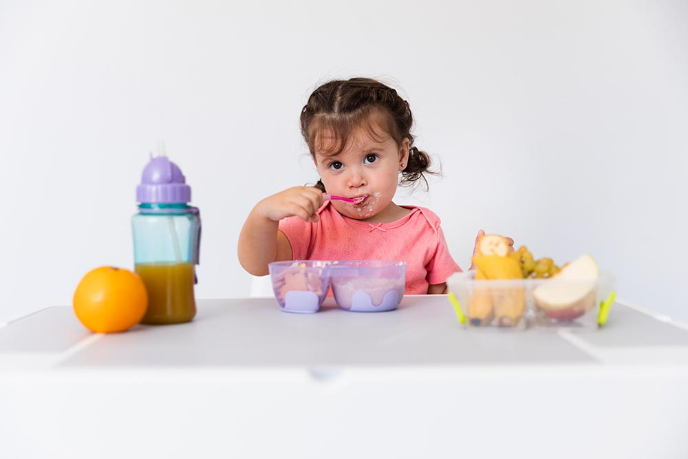 Alimentos que no debes darle a tu bebé hasta los 3 años