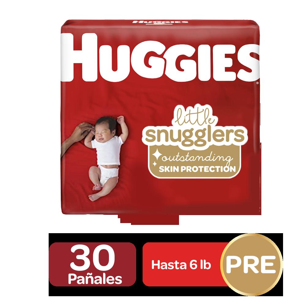 Pañales Huggies Little Snugglers Preemie; 30uds